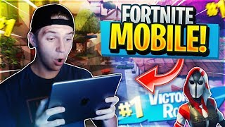 PRO FORTNITE MOBILE PLAYER on iOS // 650+ Wins // Fortnite Mobile Gameplay Live