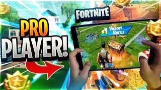 FAST MOBILE BUILDER on iPad // Pro Fortnite Mobile Player // 645+ Wins // Fortnite Mobile Gameplay