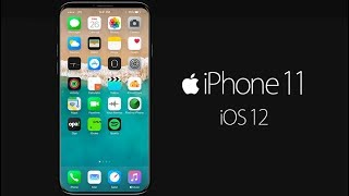 iPhone 11 and iOS 12 New Design