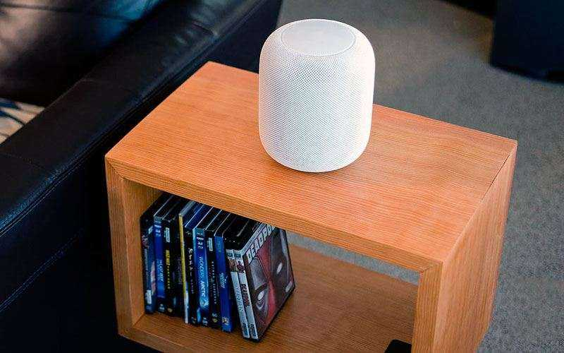 Дизайн Apple HomePod