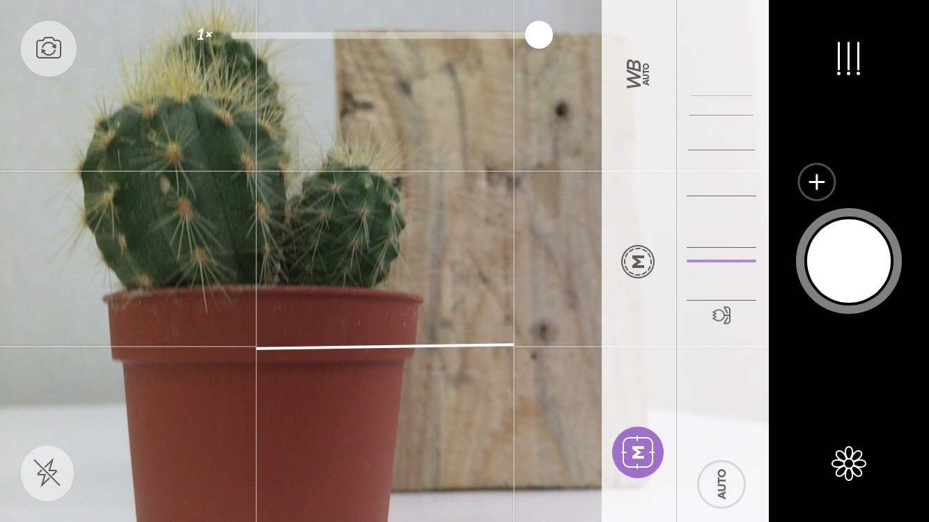 Camera+ manual camera app for iPhone